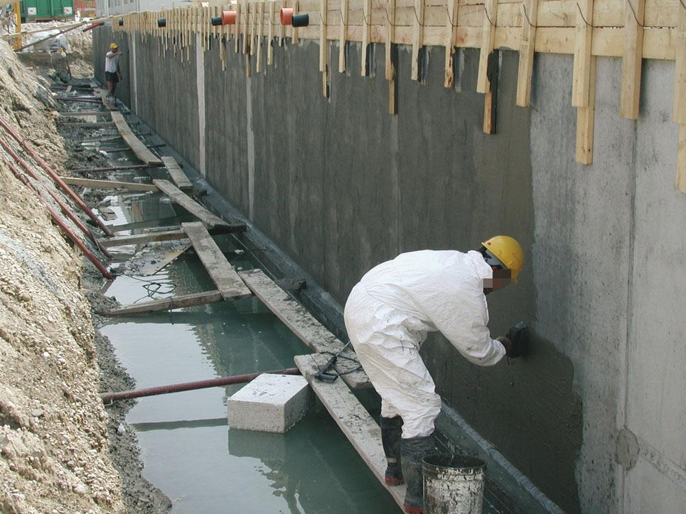 Гидроизоляция бетона под ключ