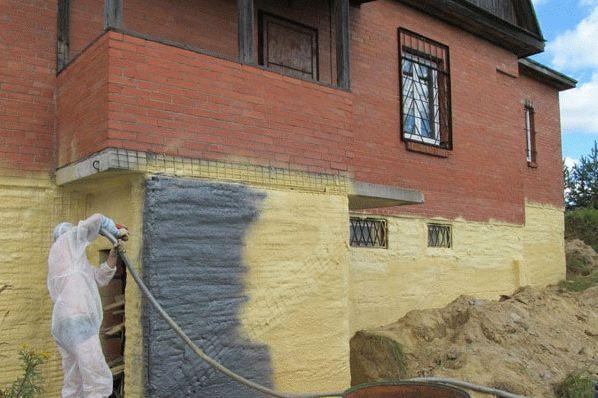 Гидроизоляция фасада дома