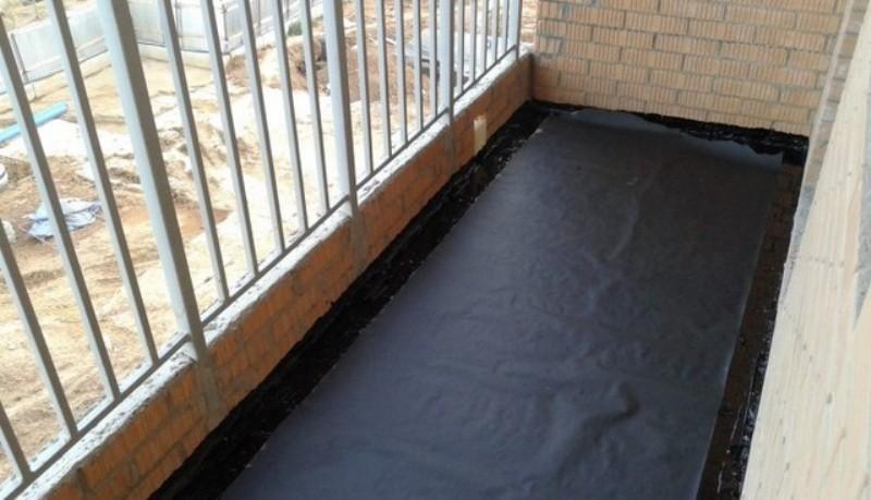 Гидроизоляция балкона (лоджии)